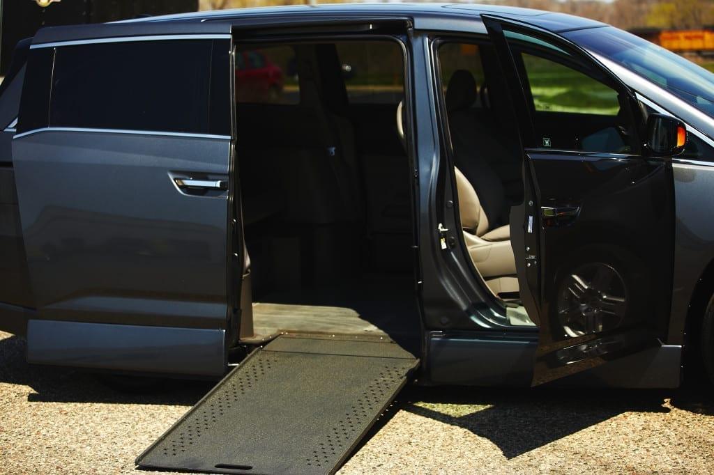 Wheelchair Ramps for Vans : Folding Van Ramps