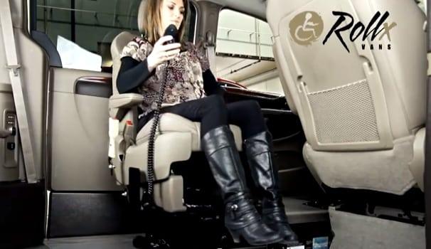 rollx vans transfer seat demo