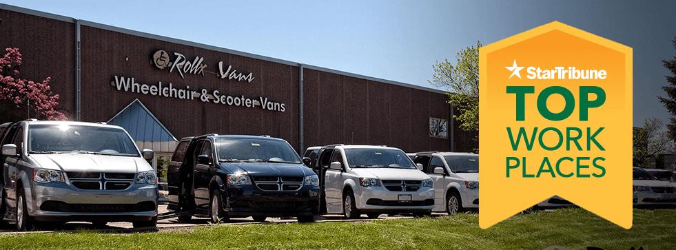 Star tribune top workplaces rollx vans
