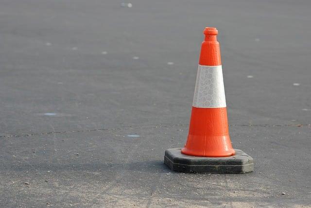 roadside emergency cone