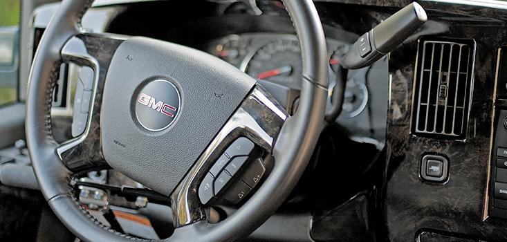 Rollx Vans full size wheelchair vans for sale steering dash