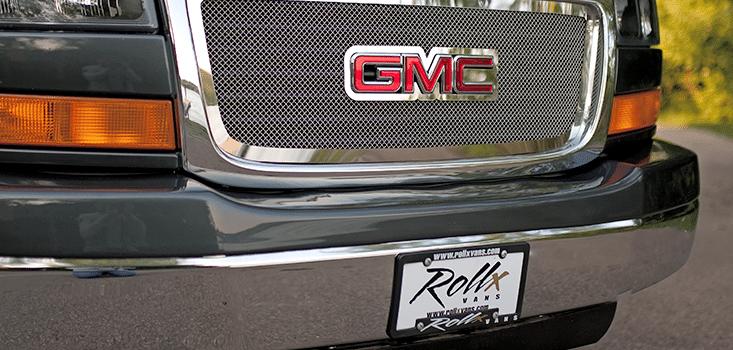 Rollx Vans full size wheelchair vans for sale GMC Logo