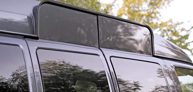 Rollx Vans full size wheelchair vans for sale side doors raised