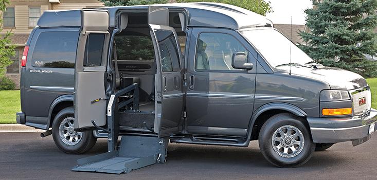 Rollx Vans full size wheelchair vans for sale side angle