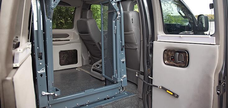 Rollx Vans full size wheelchair vans for sale clear lift