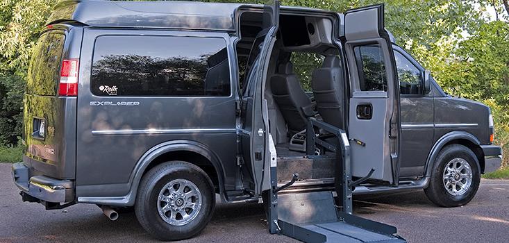 Rollx Vans full size wheelchair vans for sale open