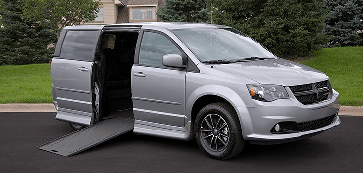 Rollx Vans Dodge Grand Caravan wheelchair van ramp open
