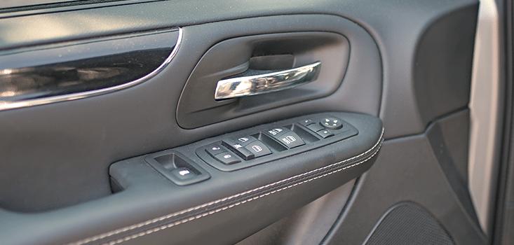 Rollx Vans Dodge Grand Caravan wheelchair van door controls