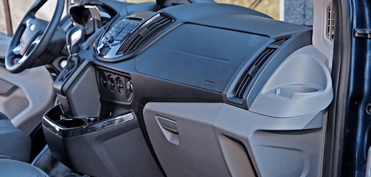 Rollx Vans Ford transit wheelchair van passenger dash