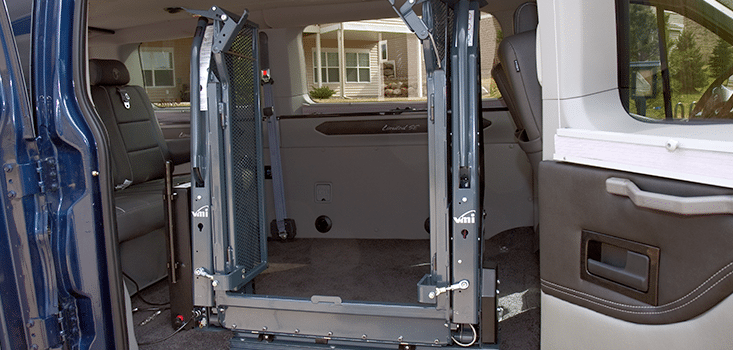 Rollx Vans Ford transit wheelchair van wheelchair lift