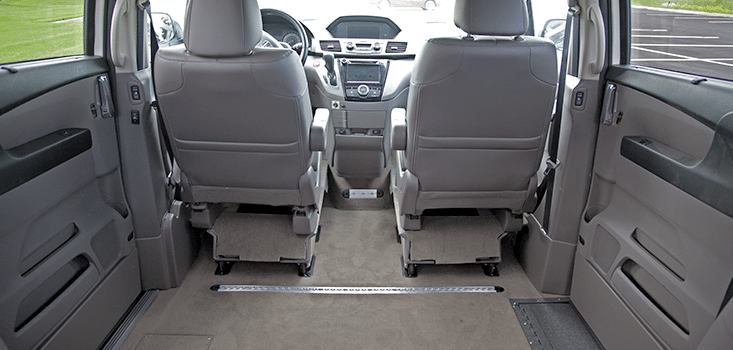Rollx Vans Honda Odyssey wheelchair van lower floor