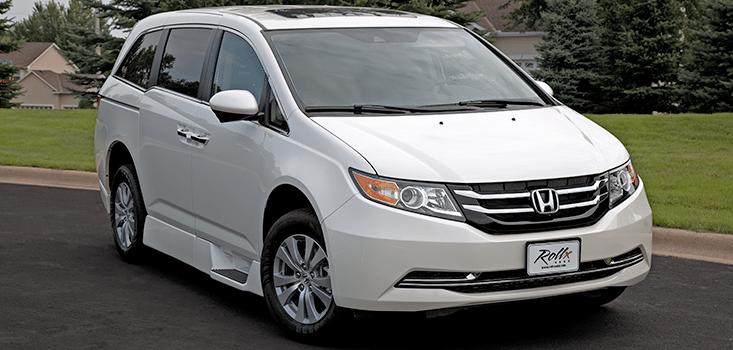 Rollx Vans Honda Odyssey wheelchair van front grill