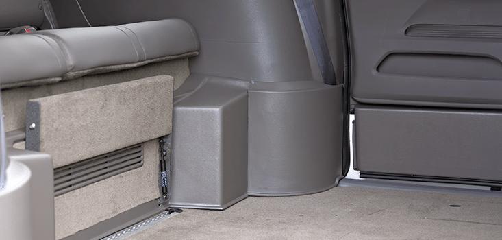 Rollx Vans Honda Odyssey wheelchair van rear lower floor