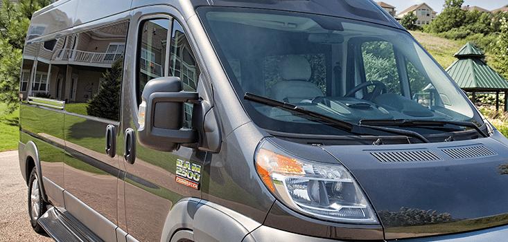 Rollx Vans Dodge Ram Promaster wheelchair van passenger exterior