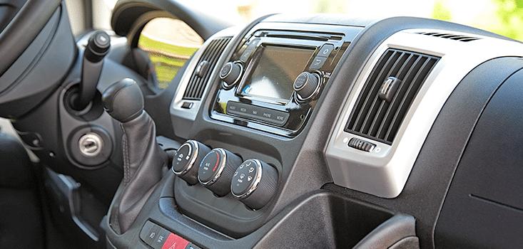 Rollx Vans Dodge Ram Promaster wheelchair van heat controls