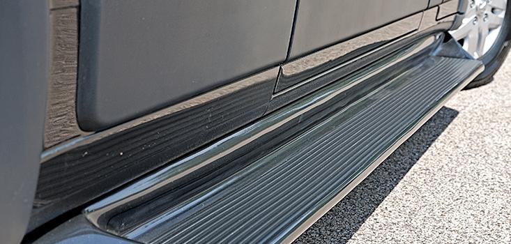 Rollx Vans Dodge Ram Promaster wheelchair van running board
