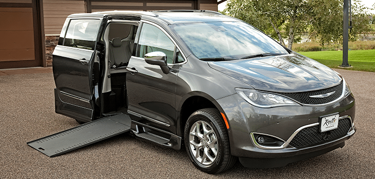 Rollx Vans Chrysler Pacifica Wheelchair van Ramp