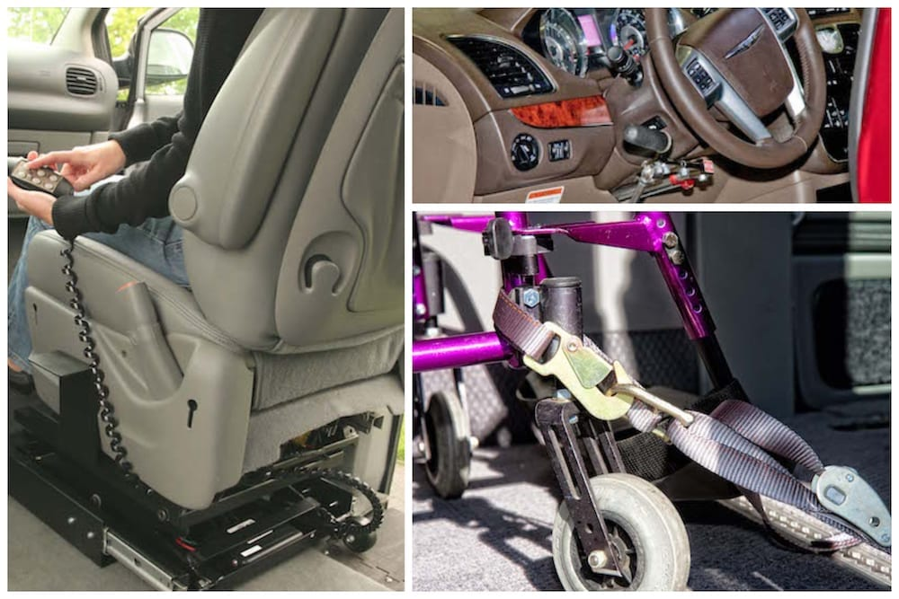 wheelchair van conversion features