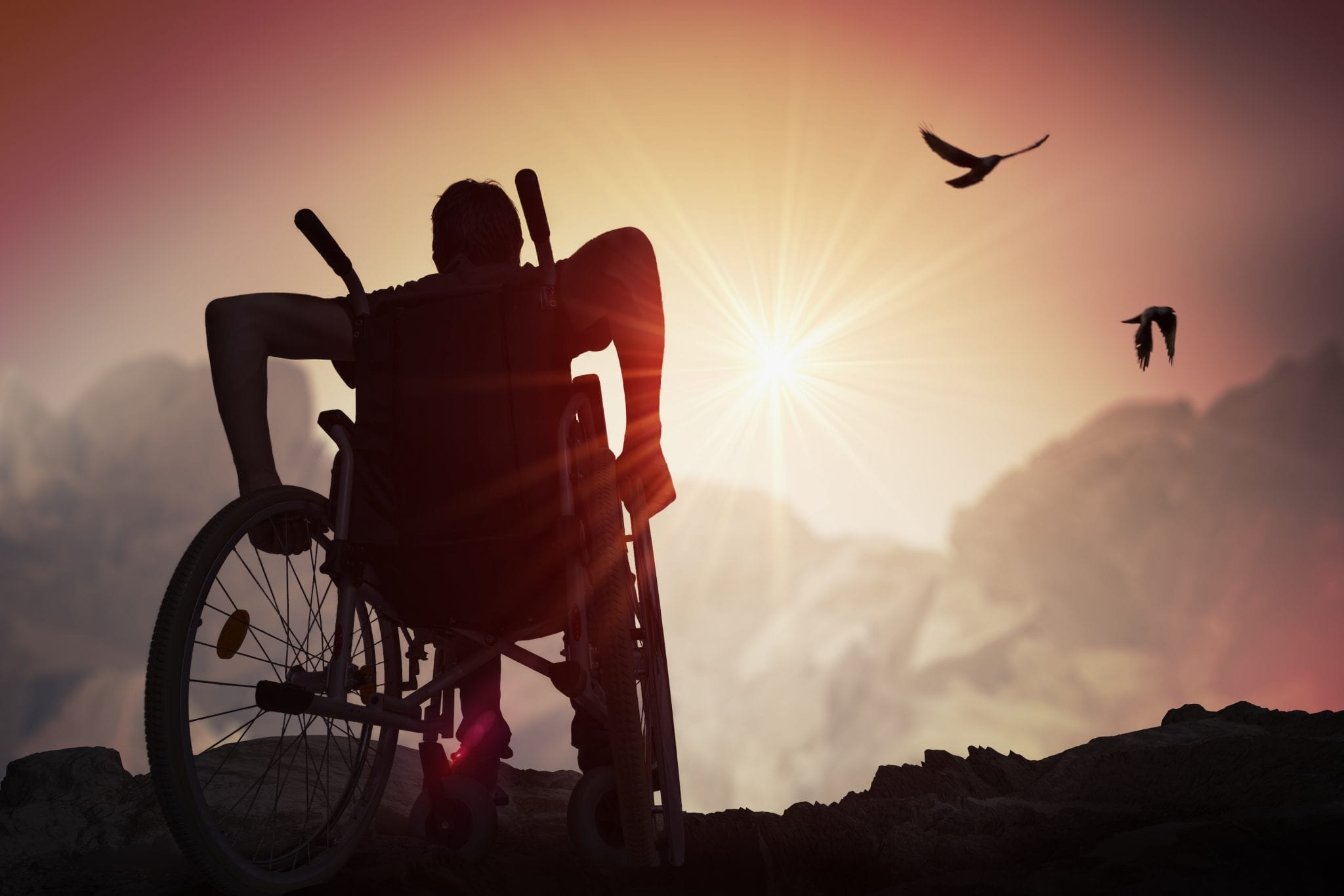 wheelchair user independence