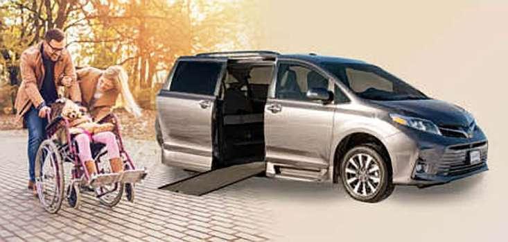 Rollx Vans Toyota Wheelchair Van