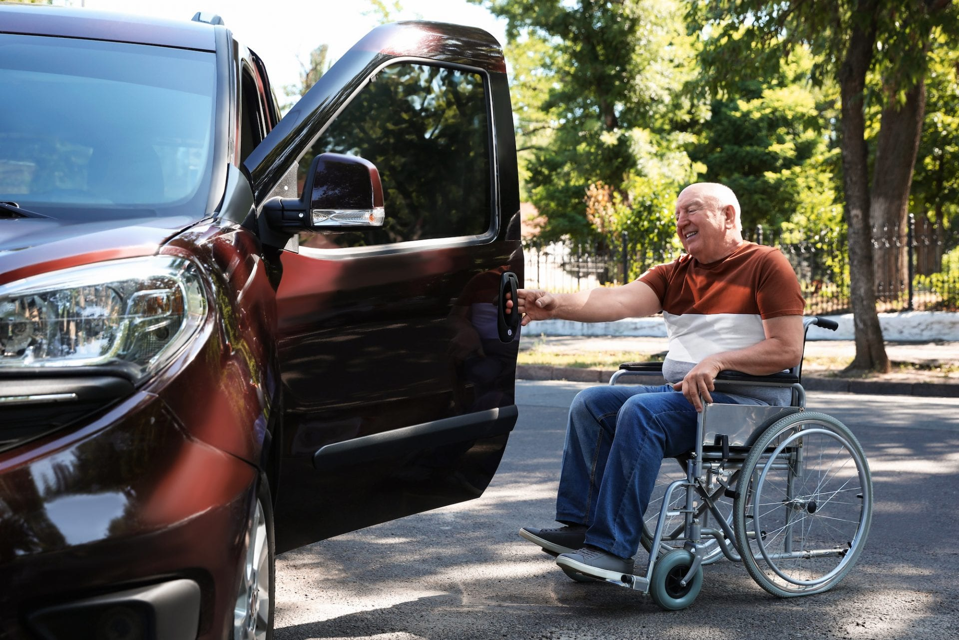 wheelchair vans top cities